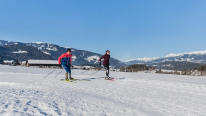 cross-country skiing-kronplatz