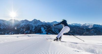 skiing kronplatz