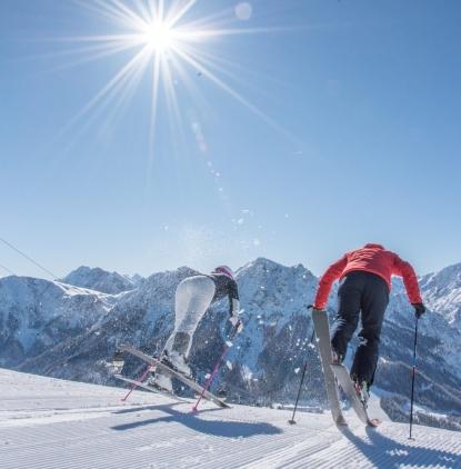 skiing pustertal
