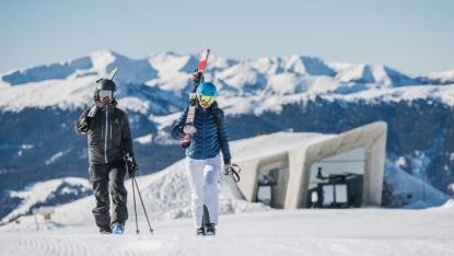 comprensorio sciistico Plan de Corones nelle Dolomiti